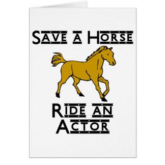 ride an actor card