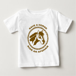 Ride An Afghan Baby T-Shirt
