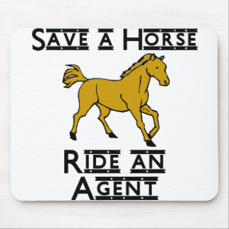 ride an agent mouse pad