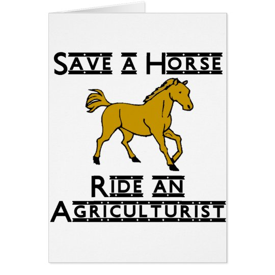 ride an agriculturist card