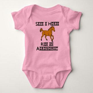 ride an agronomist baby bodysuit
