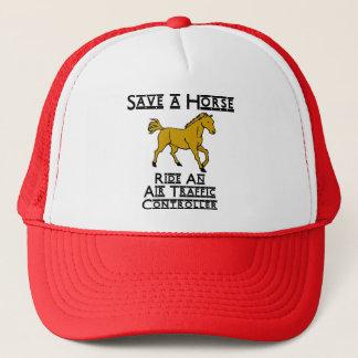 ride an air traffic controller trucker hat
