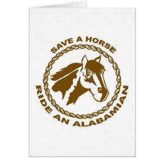 Ride An Alabamian Card
