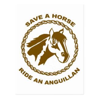 Ride An Anguillan Postcard