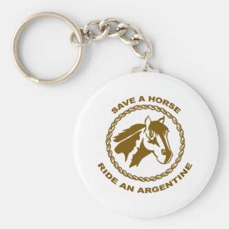 Ride An Argentine Keychains