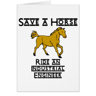 ride an industrial engineer card