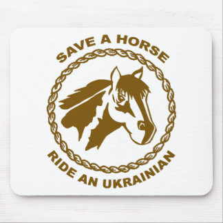 Ride An Ukrainian Mouse Pad