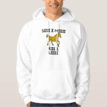 ride an usher hoodie