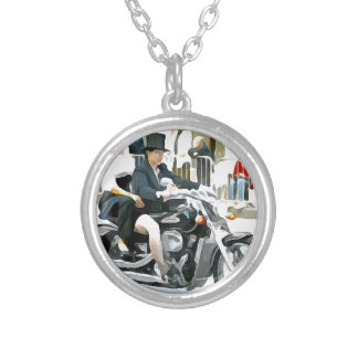 Ride Anywhere 2 Silver Plated Necklace