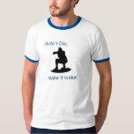 ride 'r die - Customized T Shirt