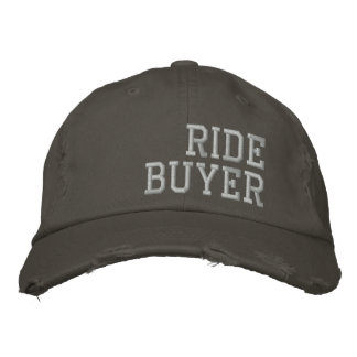 Ride Buyer Cap Embroidered Baseball Caps