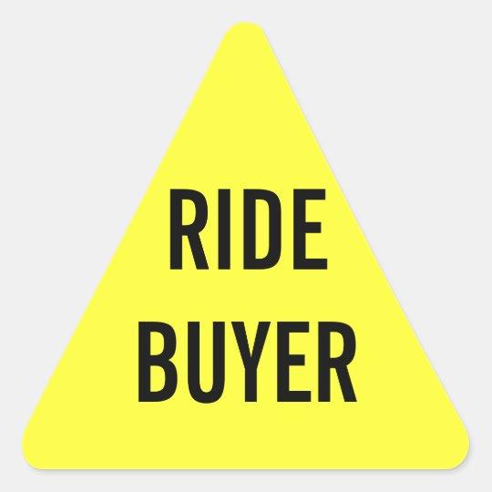 Ride Buyer Sticker