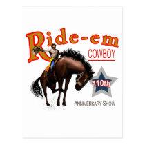 Ride-em Cowboy! Postcard