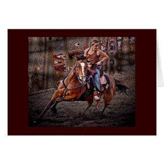 Ride Em' Cowgirl! Cards