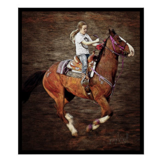 Ride 'em Cowgirl Posters