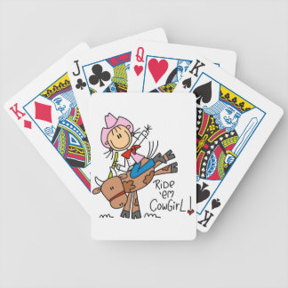 Ride Em Cowgirl T-shirts and Gifts Bicycle Playing Cards