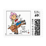Ride Em Cowgirl T-shirts and Gifts Stamps