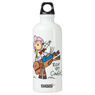 Ride Em Cowgirl T-shirts and SIGG Traveler 0.6L Water Bottle