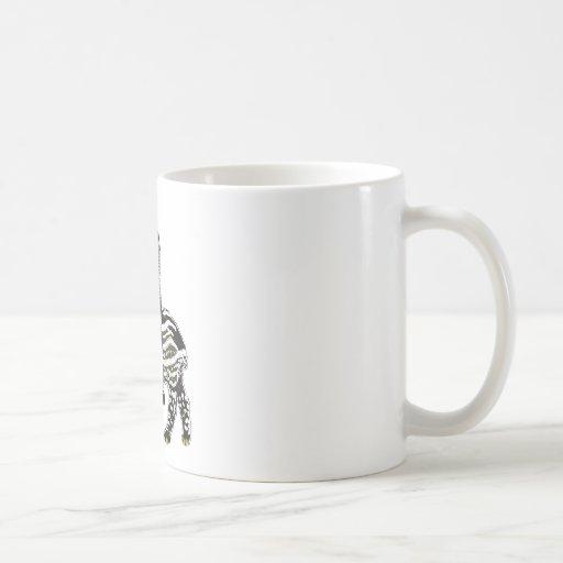Ride em' tapir coffee mug