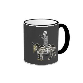 Ride em' tapir ringer mug