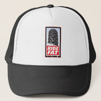 RIDE FAT - For the lovers of the fat tire bikes Trucker Hat