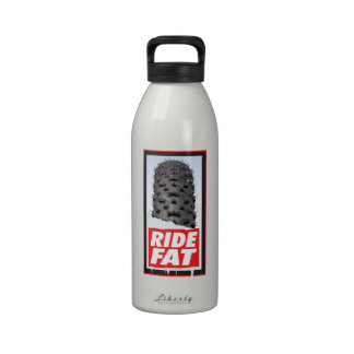 RIDE FAT - For the lovers of the fat tire bikes Drinking Bottle