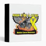Ride For a Cure - Bladder Cancer 3 Ring Binder