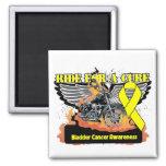Ride For a Cure - Bladder Cancer Fridge Magnet