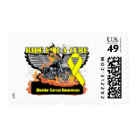 Ride For a Cure - Bladder Cancer Stamp