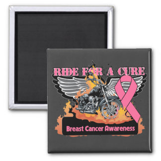 Ride For a Cure - Breast Cancer Fridge Magnets