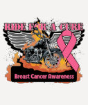 Ride For a Cure - Breast Cancer Shirt
