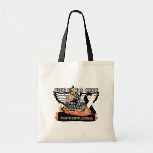 Ride For a Cure - Carcinoid Cancer Tote Bag