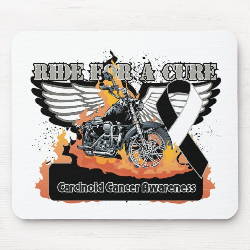 Ride For a Cure - Carcinoid Cancer Mouse Pad