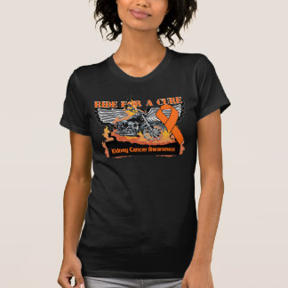 Ride For a Cure - Kidney Cancer Awareness T-Shirt