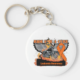Ride For a Cure - Leukemia Keychains
