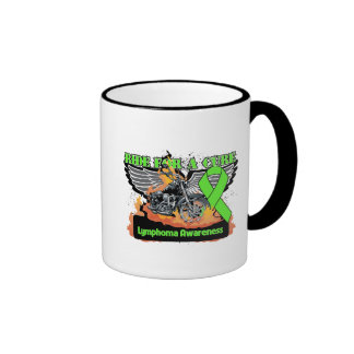 Ride For a Cure - Lymphoma Coffee Mugs