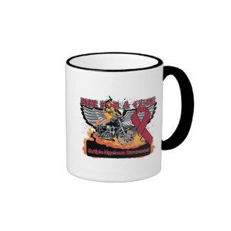 Ride For a Cure - Multiple Myeloma Coffee Mug