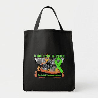 Ride For a Cure - Non-Hodgkins Lymphoma Canvas Bag