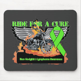 Ride For a Cure - Non-Hodgkins Lymphoma Mouse Pad