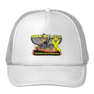 Ride For a Cure - Testicular Cancer Trucker Hat