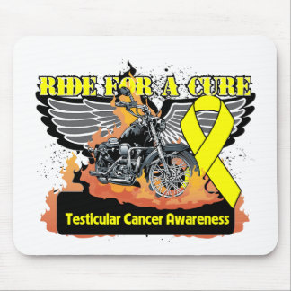 Ride For a Cure - Testicular Cancer Mouse Pad