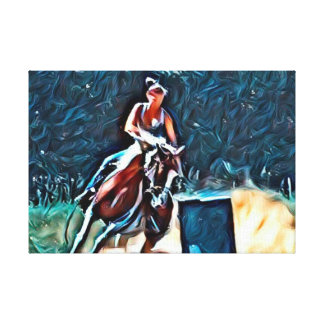 Ride For the Dream 2 Canvas Print