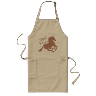 Ride Free apron - choose style & color
