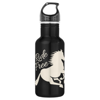 Ride Free - choose style & color Stainless Steel Water Bottle