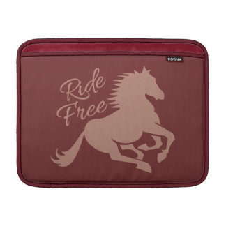 "Ride Free custom 13"" MacBook sleeve"