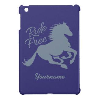 Ride Free custom color cases iPad Mini Covers
