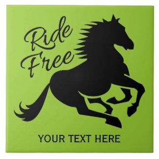 Ride Free custom color ceramic tiles