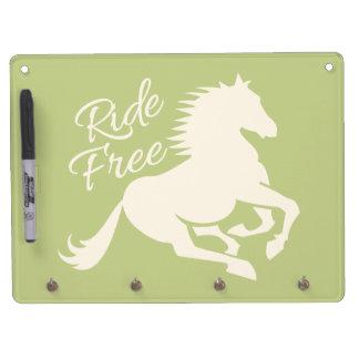 Ride Free custom message board