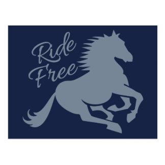 Ride Free custom postcard