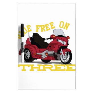 Ride Free Dry-Erase Board